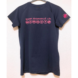 マムート(Mammut)のmammut 紺色Tシャツ(Tシャツ(半袖/袖なし))