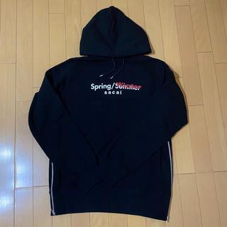 サカイ(sacai)のsacai 19SS サイドジップ付き spring/winter パーカー(パーカー)