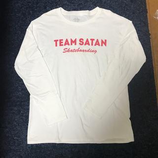 シュプリーム(Supreme)のTEAM SATAN TEE SHIRT チームサタン(Tシャツ/カットソー(七分/長袖))