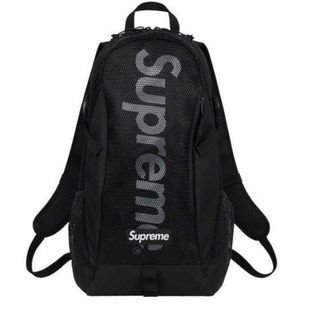Supreme - supreme バックパック リュック 黒 20ss