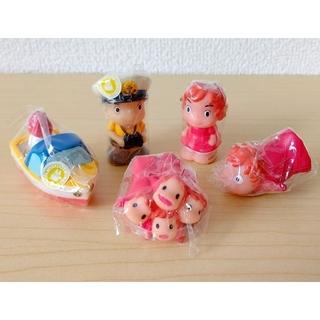 ジブリ(ジブリ)の【新品】崖の上のポニョ 指人形 全5個セット ジブリ(キャラクターグッズ)