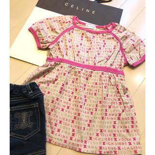 セリーヌ(celine)の☆CELINE☆チュニック☆100(Tシャツ/カットソー)