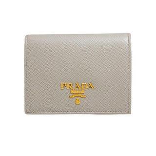 プラダ(PRADA)の7月11日まで 新品未使用 プラダ 財布 二つ折り PRADA レディース(折り財布)