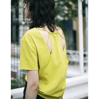 アメリヴィンテージ(Ameri VINTAGE)の【新品・未使用】バックデザイン トップス(カットソー(半袖/袖なし))