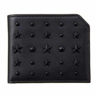 ジミーチュウ(JIMMY CHOO)の【新品】JIMMY CHOO ALBANY LXA BLACK(財布)