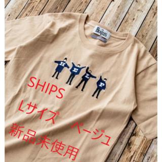 SHIPS - 【新品未開封】THE BEATLES Tシャツ SHIPS ベージュ サイズL