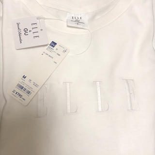 GU - 新品 GU ELLE コラボTシャツ
