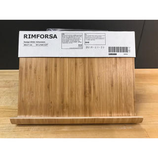 イケア(IKEA)のRIMFORSA リムフォルサ タブレットスタンド 竹(その他)