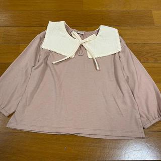 プティマイン(petit main)のテータテート 襟付きトップス(Tシャツ/カットソー)