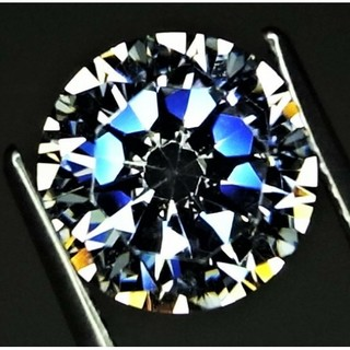 AMO'S STYLE - 4.99ct 9mm 究極のExcellent cut 大粒 CZdiamond