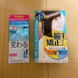 新品未開封☆プロカリテ縮毛矯正セット(パーマ剤)