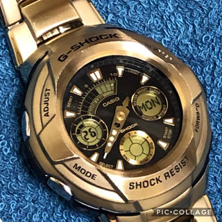 ジーショック(G-SHOCK)のCASIO G-SHOCK 国内未売品 超希少 ゴールドカラーモデル 早い者勝ち(腕時計(アナログ))