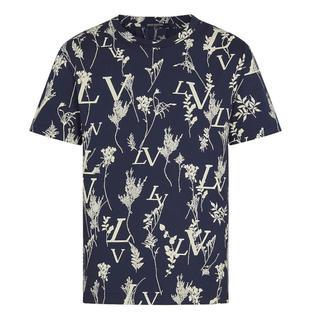 ルイヴィトン(LOUIS VUITTON)の新品 国内正規 ルイヴィトン LVリーフディスチャージTシャツ(Tシャツ/カットソー(半袖/袖なし))