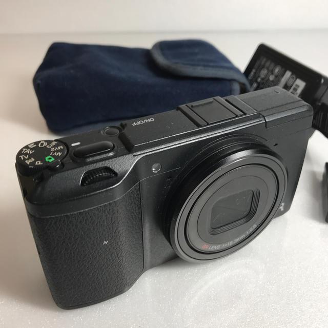 RICOH(リコー)のRICOH GR II コンパクトカメラ スマホ/家電/カメラのカメラ(コンパクトデジタルカメラ)の商品写真