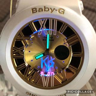 ジーショック(G-SHOCK)のCASIO G-SHOCK baby-G 超希少 KE$HA ゴールドモデル美品(腕時計)