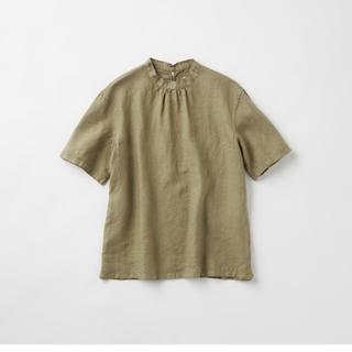 IDEE - 【新品】POOL いろいろの服 スタンドカラーブラウス