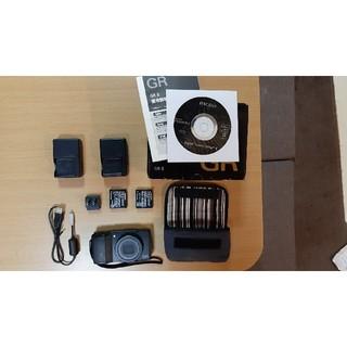 リコー(RICOH)のGRⅡ RICOH gr2 美品 付属品多数(コンパクトデジタルカメラ)