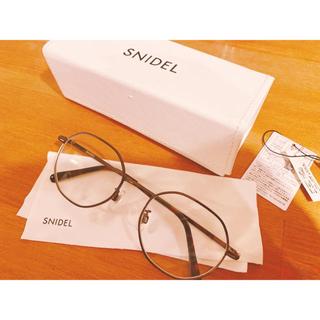 スナイデル(snidel)の期間限定値下げ snidel ♡ メガネ (サングラス/メガネ)