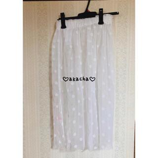 ハニーシナモン(Honey Cinnamon)の♡honey cinnamon チュールスカート♡(ロングスカート)