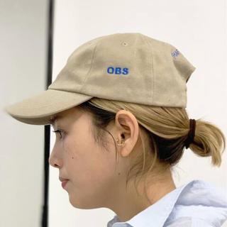 L'Appartement DEUXIEME CLASSE - AP STUDIO 【OBS】キャップ♡ベージュ