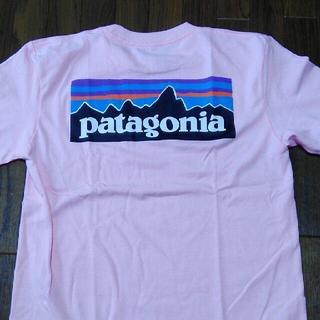 パタゴニア(patagonia)のパタゴニアTシャツ ライトピンク P6 ベストセラー クラシックロゴ 半袖T(Tシャツ(半袖/袖なし))