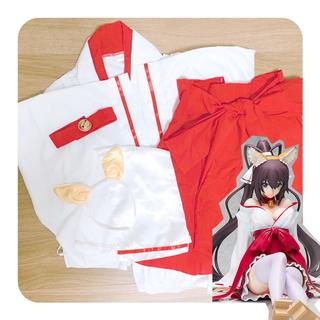 巫女 コスプレ衣装 妖狐×僕SS(衣装一式)