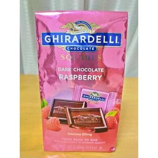 リンツ(Lindt)の7月末迄出品 高級チョコレートギラデリ ダークチョコレートラズベリー11月30日(菓子/デザート)