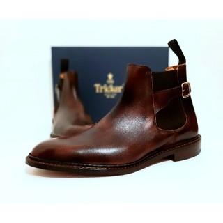 Trickers - 未使用 Tricker's ブーツ 25.5~26cm サイドゴア ジョッパー