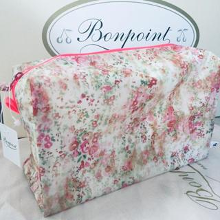 Bonpoint - 新品未使用 ボンポワン ポーチ T2サイズ 花柄
