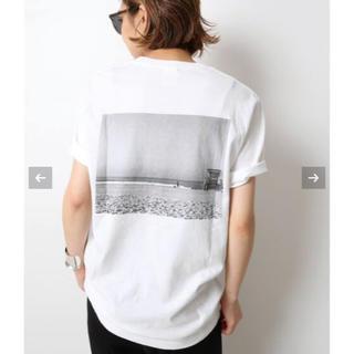 ドゥーズィエムクラス(DEUXIEME CLASSE)の【新品】Deuxieme Classe Photo T-shirt  ホワイトB(Tシャツ(半袖/袖なし))