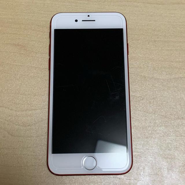 iPhone(アイフォーン)のiphone7 128gb red SIMフリー スマホ/家電/カメラのスマートフォン/携帯電話(スマートフォン本体)の商品写真