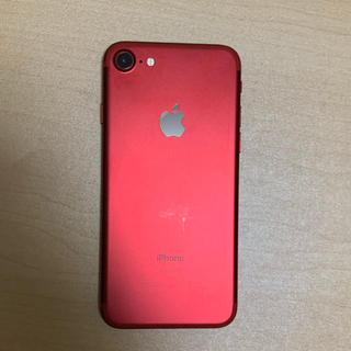 iPhone - iphone7 128gb red SIMフリー