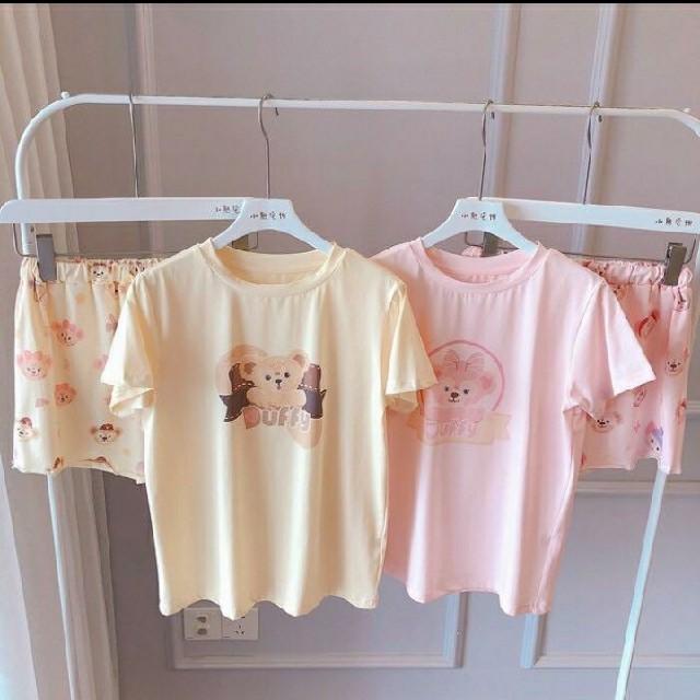 新品ダッフィーシェリーマイパジャマ レディースのルームウェア/パジャマ(パジャマ)の商品写真