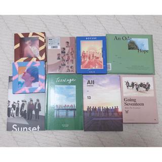 セブンティーン(SEVENTEEN)のSEVENTEEN アルバム(アイドルグッズ)