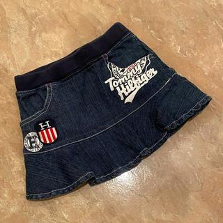 トミーヒルフィガー(TOMMY HILFIGER)のTOMMY HILFIGER デニムスカート サイズ90(スカート)