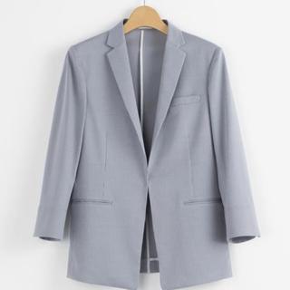 アオキ(AOKI)のテーラードジャケット 七分袖 (テーラードジャケット)