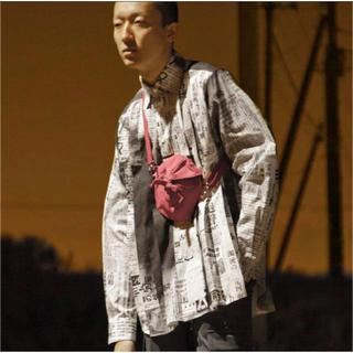ヨウジヤマモト(Yohji Yamamoto)のソウシオオツキ 新聞シャツ 19ss(シャツ)