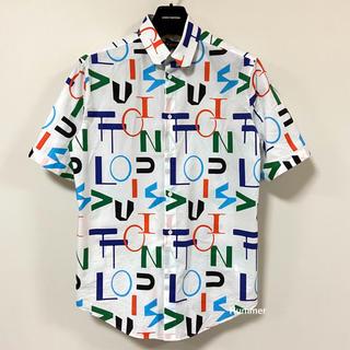 ルイヴィトン(LOUIS VUITTON)の国内正規品 極美品 ルイヴィトン 最新作 2020FW 半袖 ボタンシャツ!(シャツ)