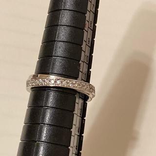 ヨンドシー(4℃)の4°C ダイヤ プラチナ ハーフエタニティ リング(リング(指輪))