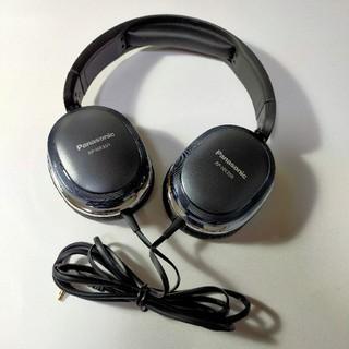 パナソニック(Panasonic)のパナソニックステレオヘッドホン RP-HX350 ブラック(ヘッドフォン/イヤフォン)