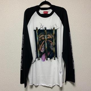 シュプリーム(Supreme)の明日発送 Supreme Dog Raglan ロンT XLサイズ(Tシャツ/カットソー(七分/長袖))