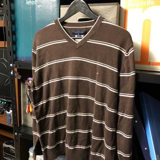 トミーヒルフィガー(TOMMY HILFIGER)のトミーフィルフィガー セーター 米国古着店購入Lサイズ(ニット/セーター)
