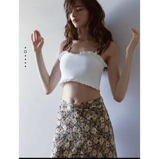 ザラ(ZARA)のZARA 花柄スカート (ロングスカート)