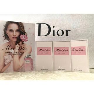 Dior - 【新品】Dior ミスディオール ローズ & ローズ × 3