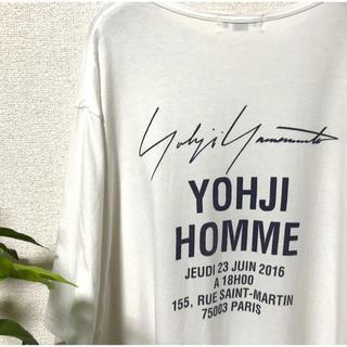 ヨウジヤマモト(Yohji Yamamoto)の【希少カラー】yohjiyamamoto スタッフtシャツ (Tシャツ/カットソー(半袖/袖なし))