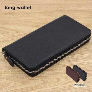 【いまだけ!】 ★2カラー ファスナータイプ長財布★(長財布)