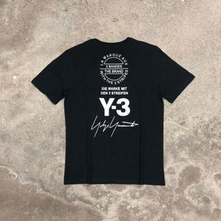 Y-3 - Tシャツ 半袖 メンズ レディース 夏 黒