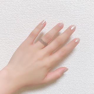 ハンドメイド♡ビーズリング♡クリア(リング)