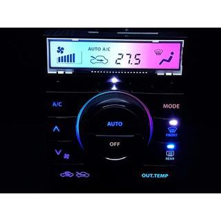 スズキ(スズキ)のパレット MK21S エアコンパネル フル7色レインボーLED打ち替え済み品(車種別パーツ)