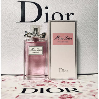 Dior - 【新品】Dior ミスディオール ローズ & ローズ の 現品 50ml